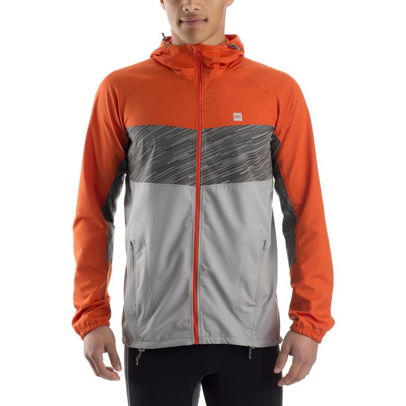 Circuit Breaker Jacket Dark Orange/Dolphin