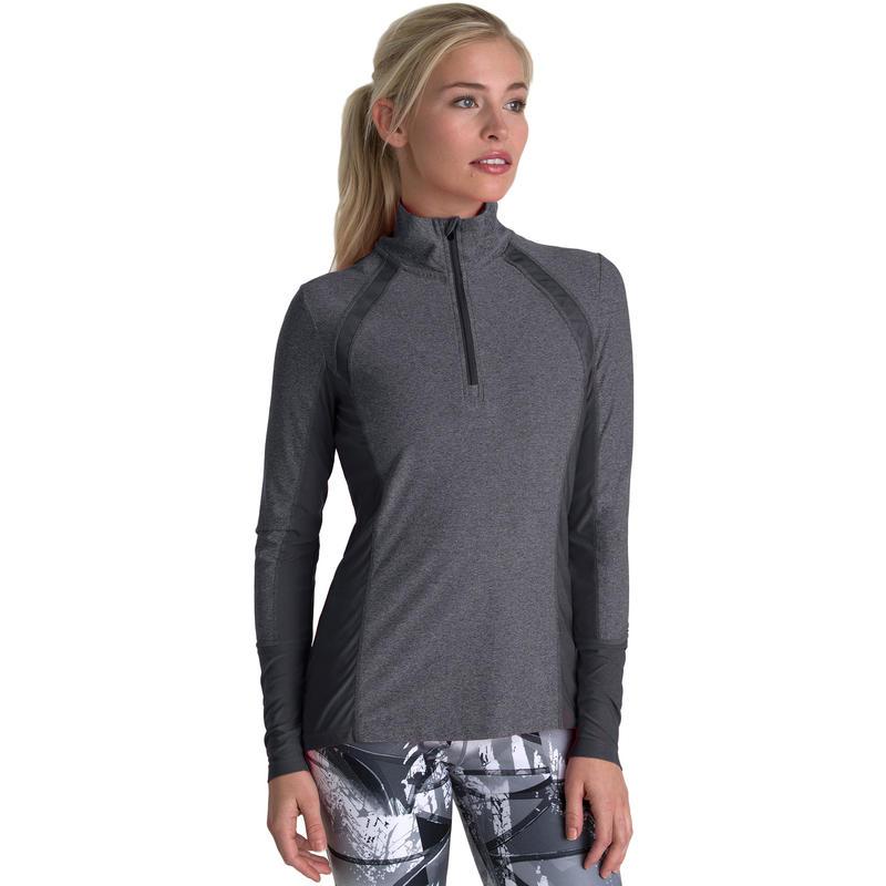 Vie Run Jacket Heather Charcoal