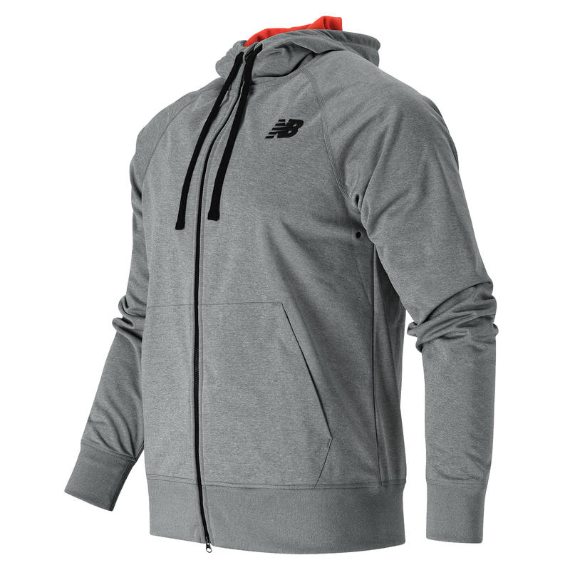 Bonded Tech Fleece Jacket Athletic Grey