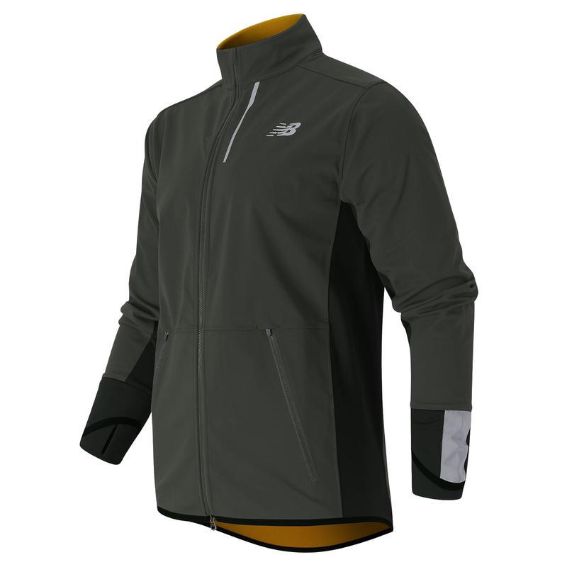 Windblocker Jacket Slate Green/Gold Rush