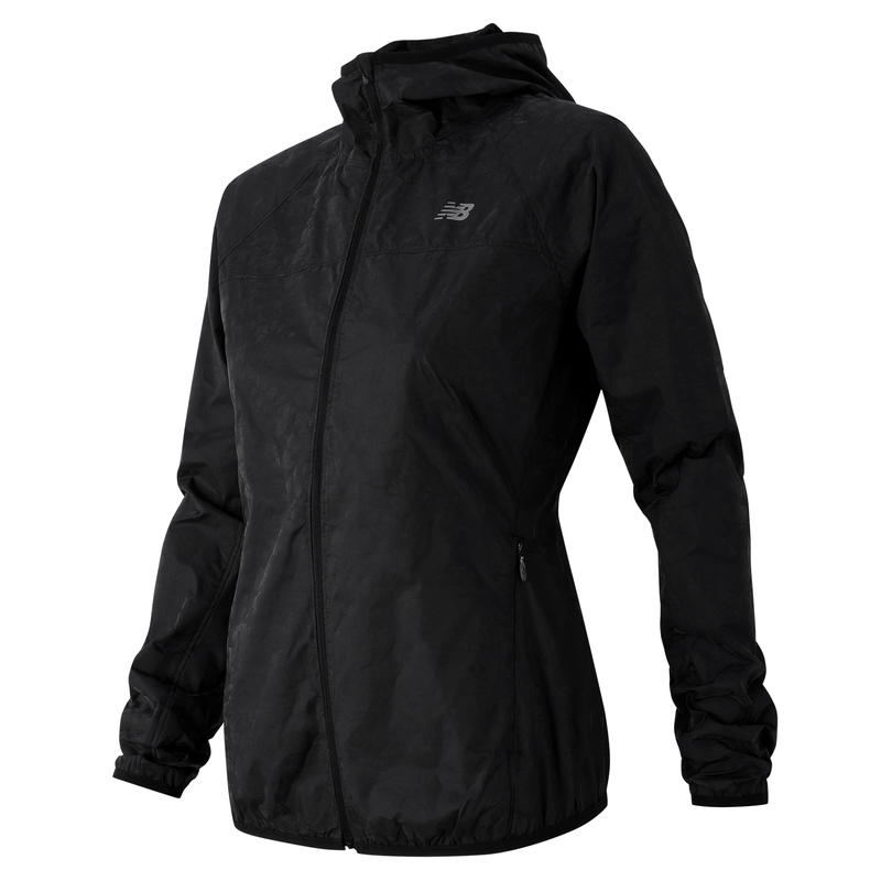 Manteau Reflective Windcheater Noir