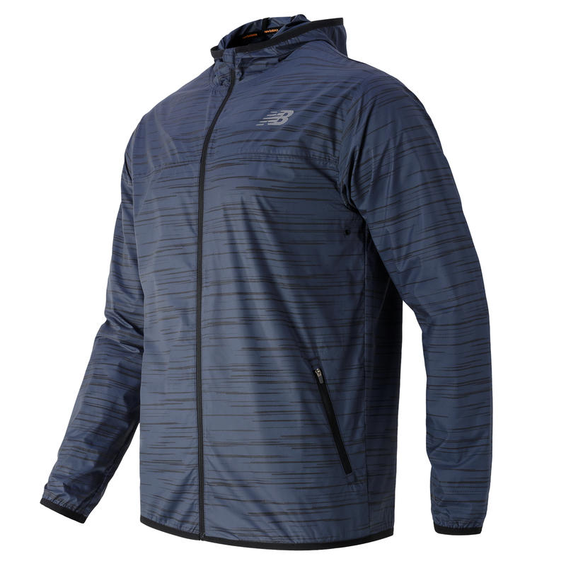 Reflective Windcheater Jacket Thunder