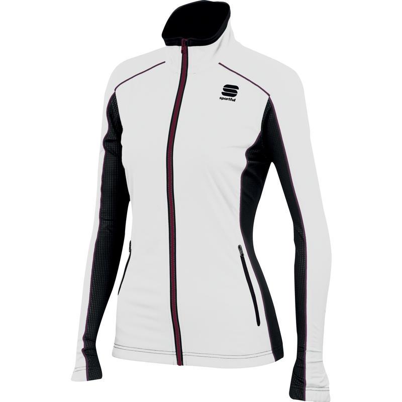 Engadin Wind Jacket White/Black