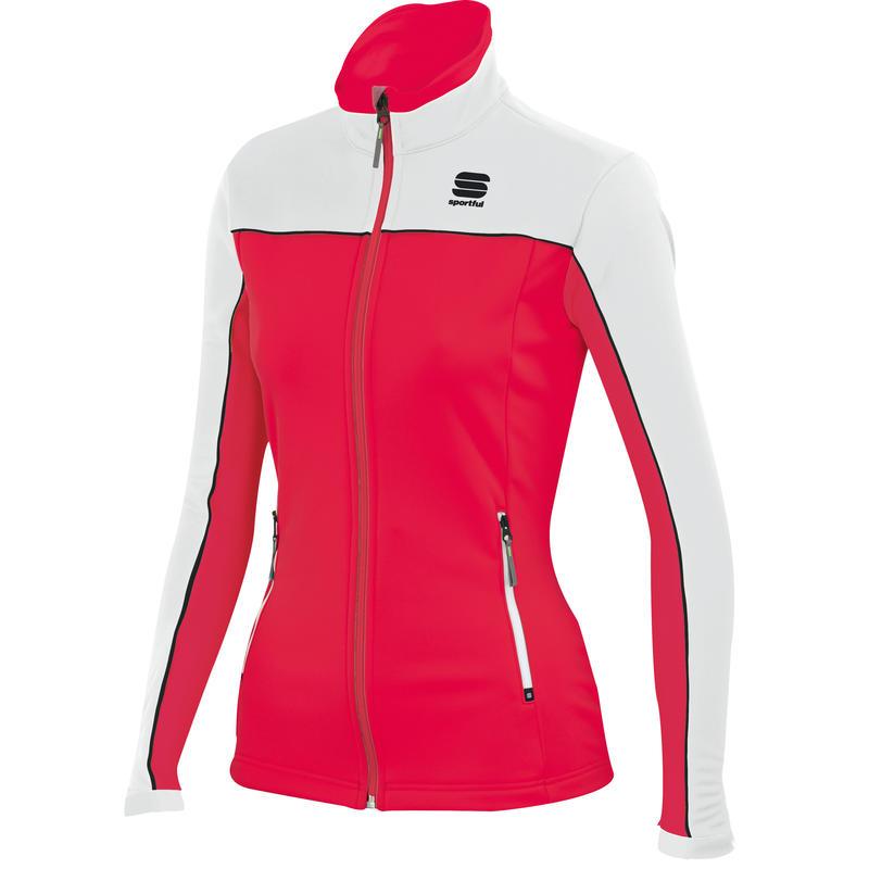 Squadra Jacket Cherry/White