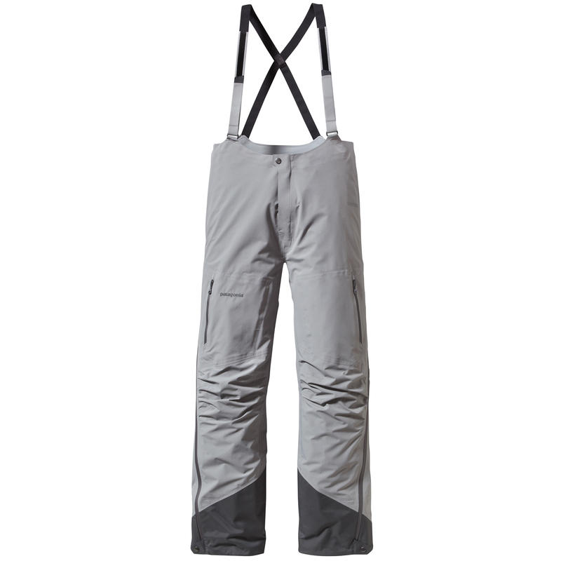 Super Alpine Bib Pants Feather Grey