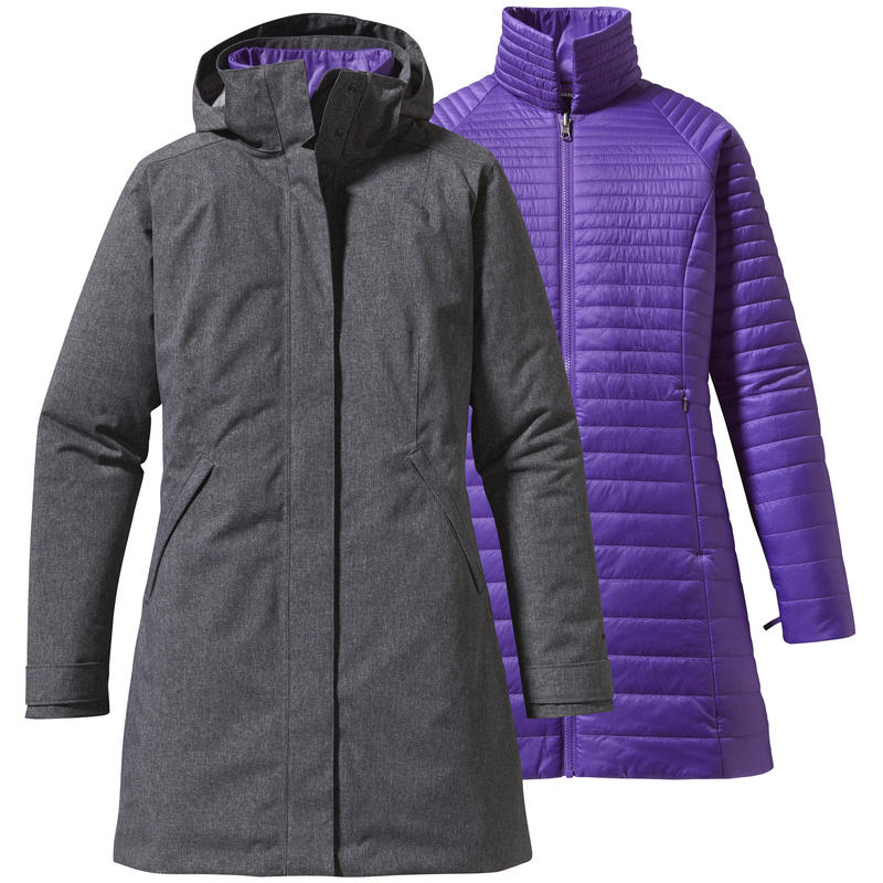Parka Vosque 3 en 1 Rockwall/Violet