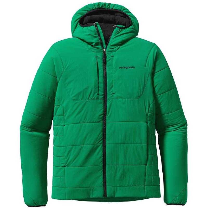 Manteau à capuchon Nano Air Vert cabriole