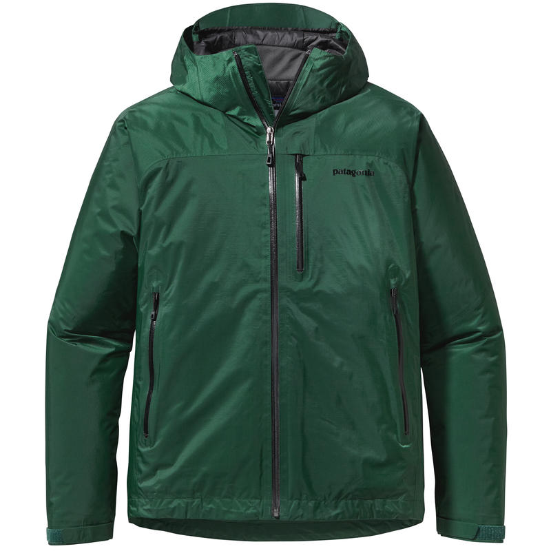 Insulated TorrentShell Jacket Malachite Green
