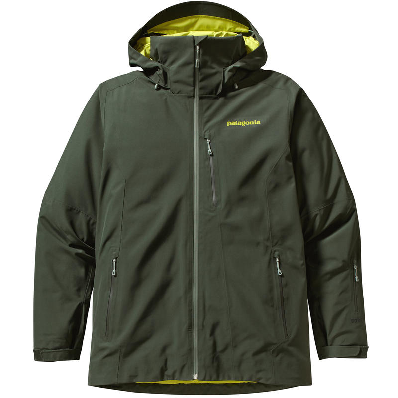 Insulated Powderbowl Jacket Smoked Green