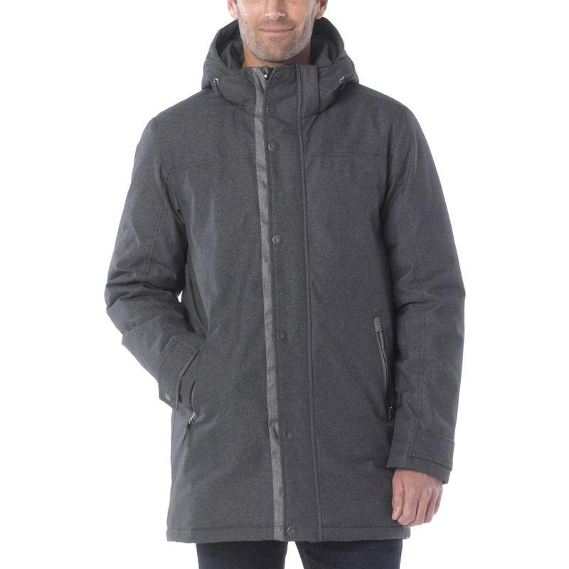 Manteau Oberlin Charbon de bois