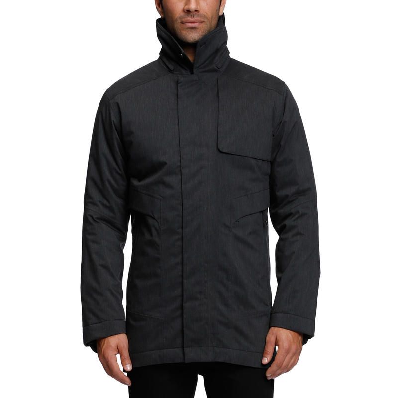 Manteau Down Tempo Carreaux chiné