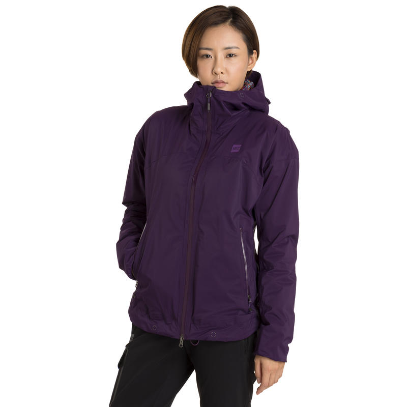 Socked-In Hoodie Grape