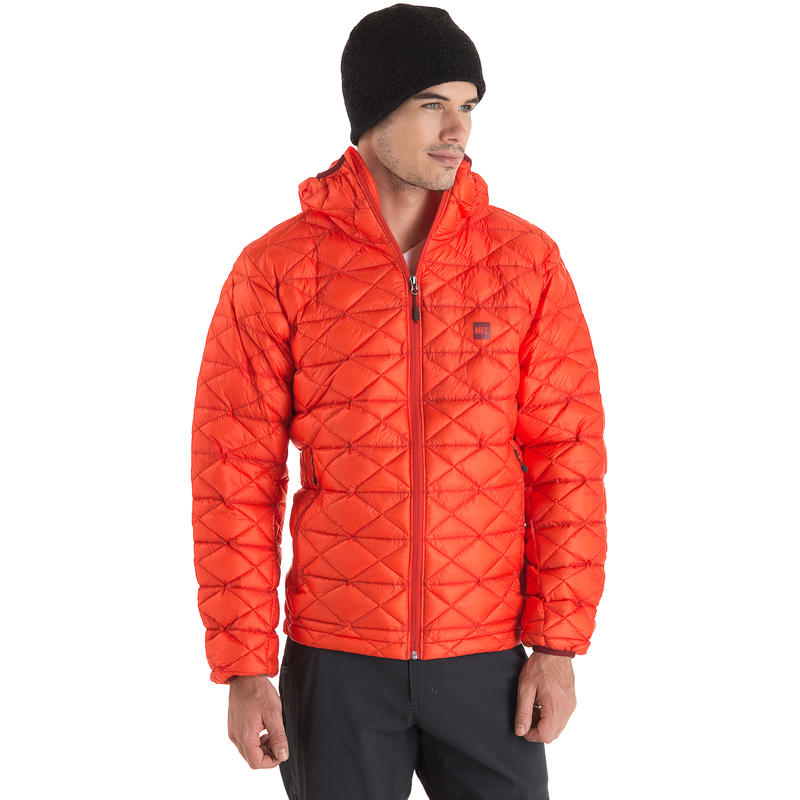 Manteau à capuchon Commix Orange vif