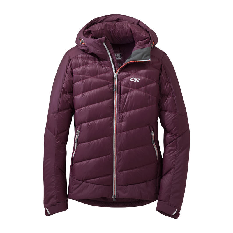 Diode Hooded Jacket Pinot