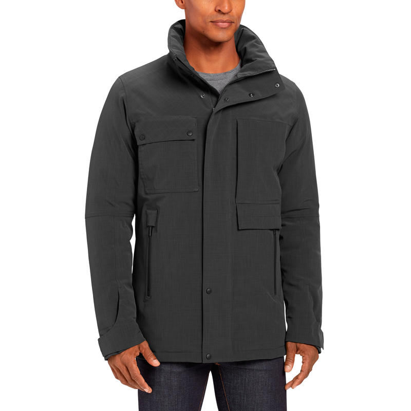 Blazing Down Jacket Caviar Heather