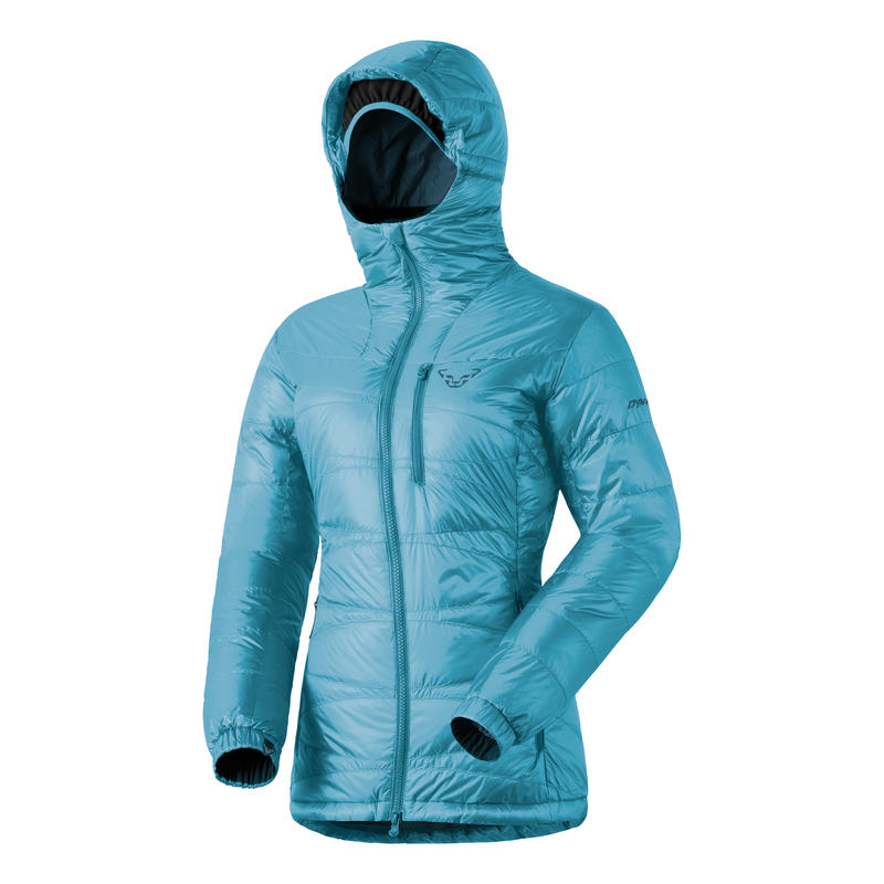 Cho Oyu Down Hooded Jacket Fiji Blue