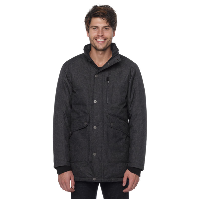 Merced Jacket Black Heather