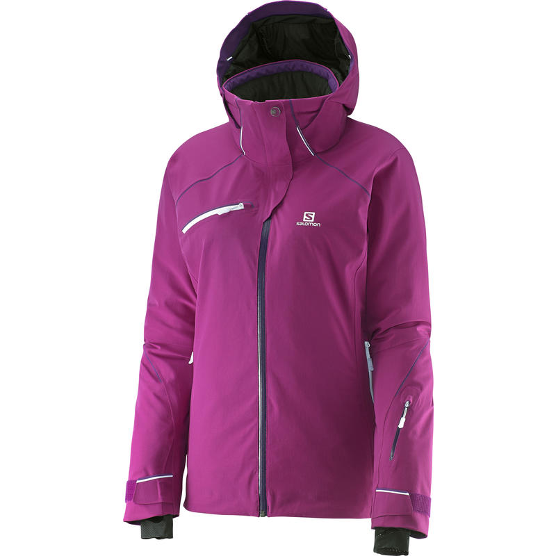 Manteau Speed Pourpre aster