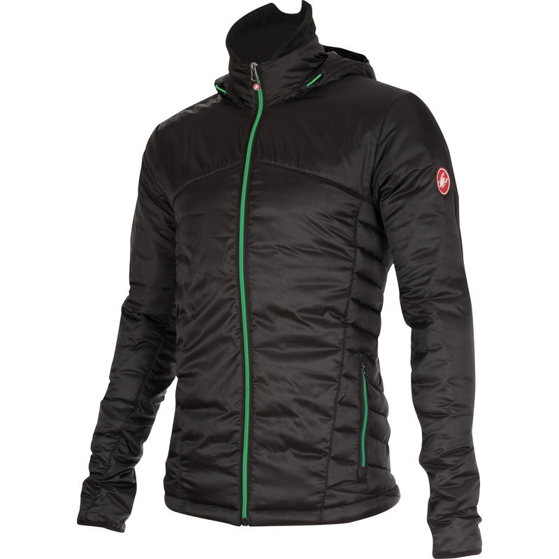 Meccanico Puffy Jacket Vintage Black/Sprint Green