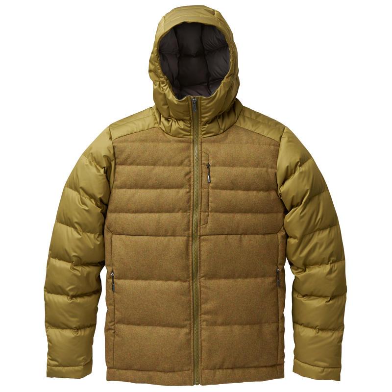 Manteau en duvet Dual Fronde chiné