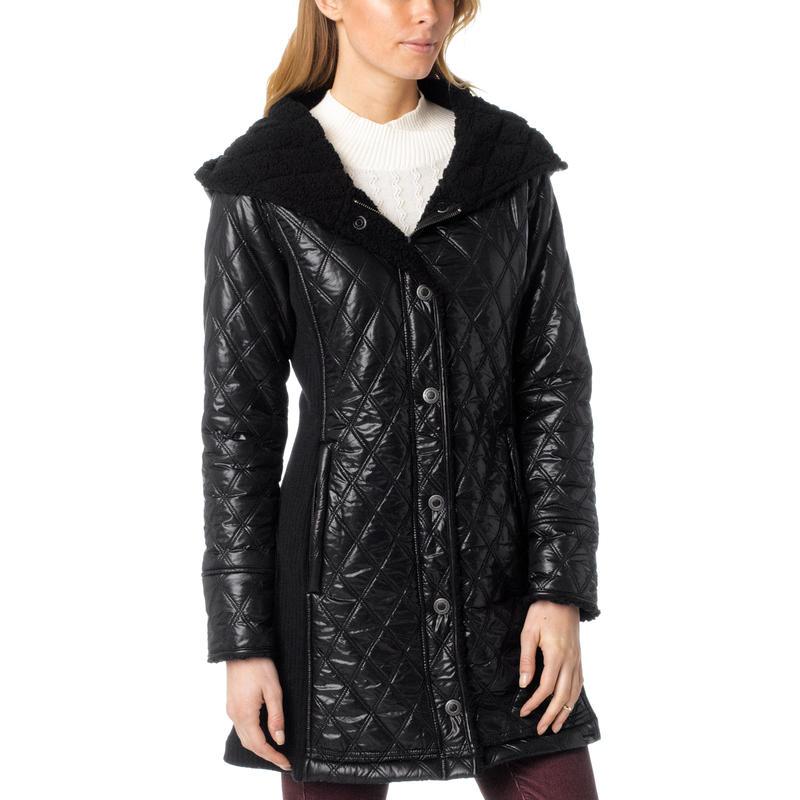 Diva Long Jacket Black