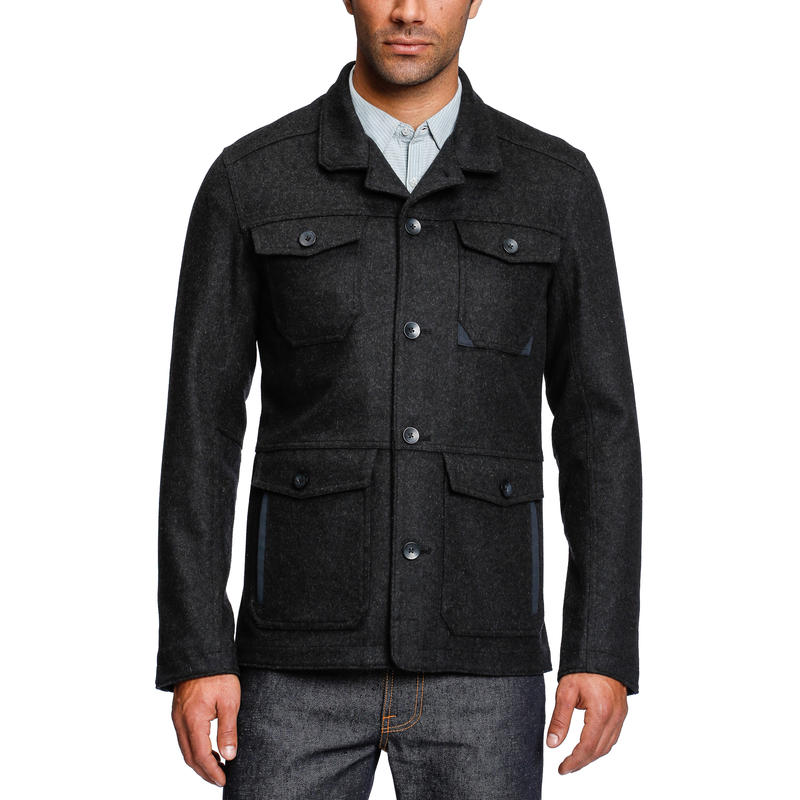 Transporter Jacket Caviar Heather