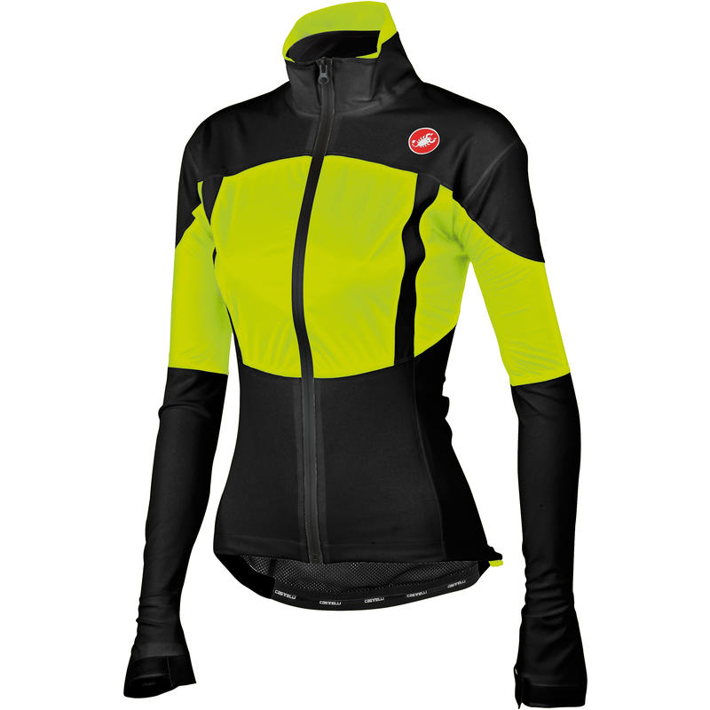 Confronto W Jacket Black/Yellow Fluo