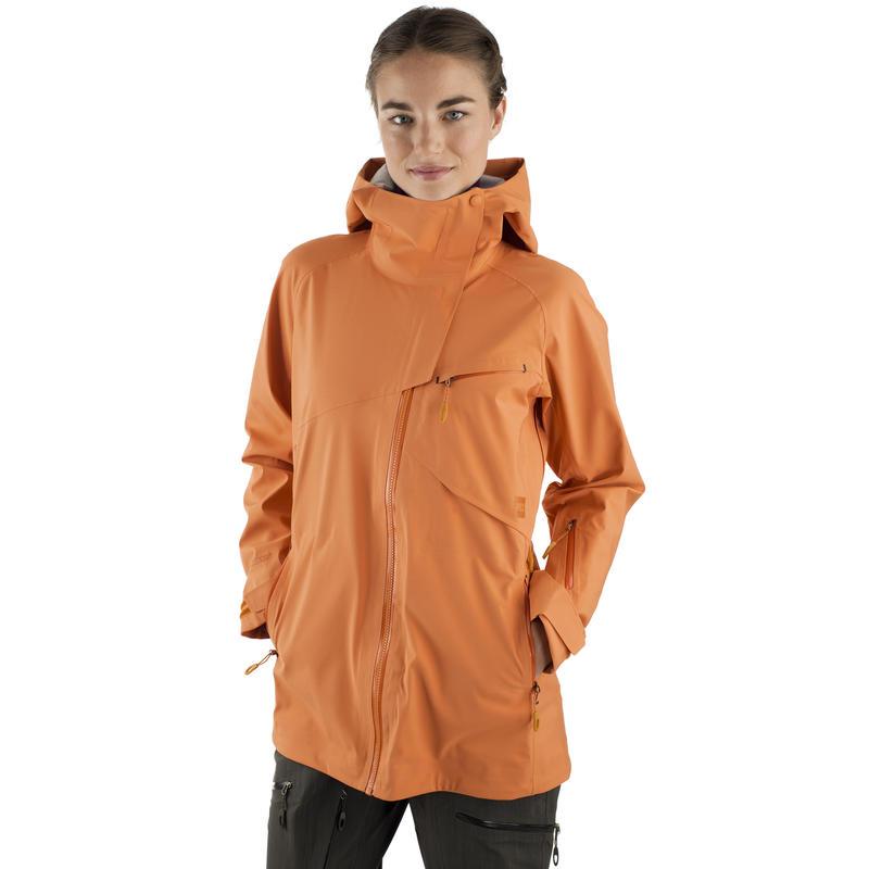 Manteau à capuchon Backbeyond Orange voilé