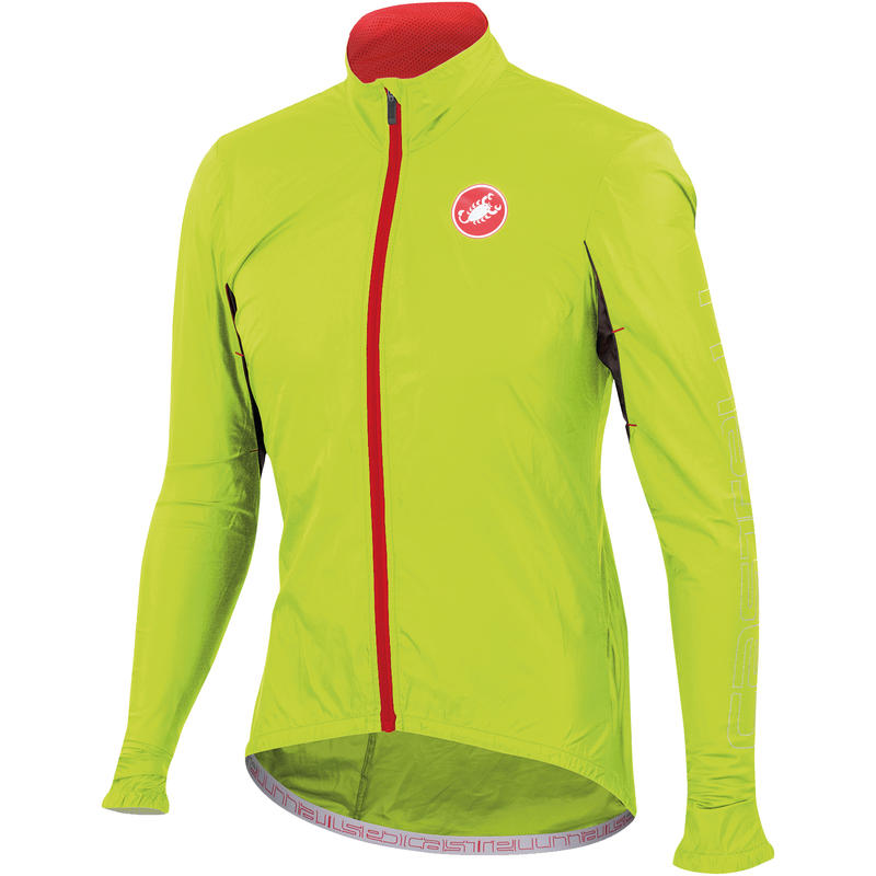 Velo Jacket Yellow Fluo