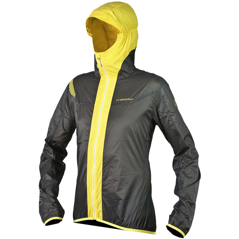 Oxygen 2.0 Windbreaker Jacket Grey/Yellow