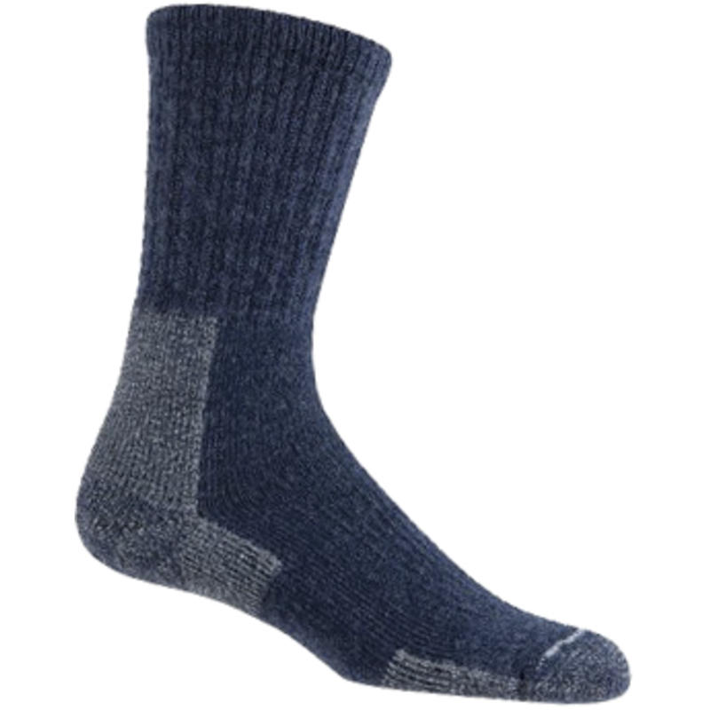 Trekker Crew Socks Navy Blue