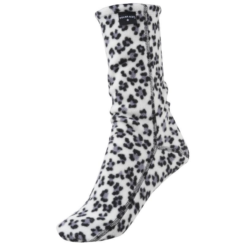 Fleece Socks Snow Leopard
