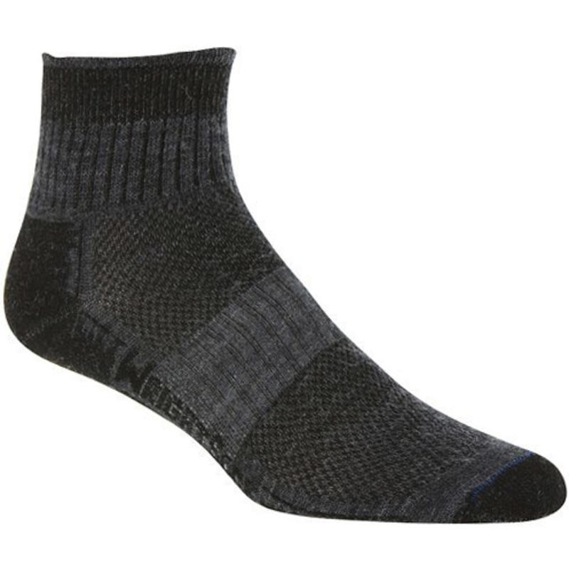 Merino Stride 1/4 Socks Grey