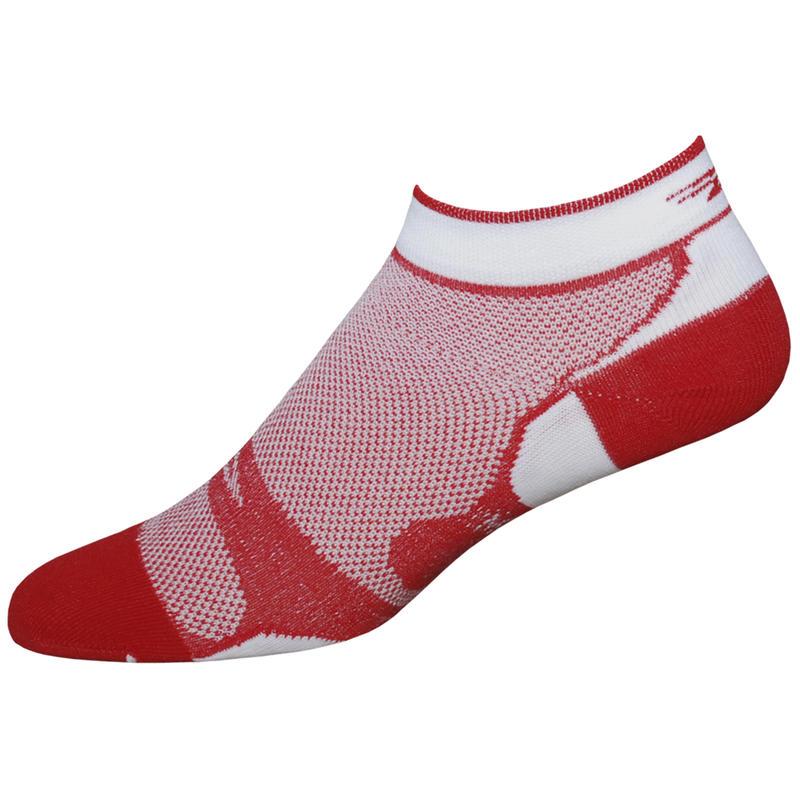 Levitator Lite Low Socks Scarlet/White