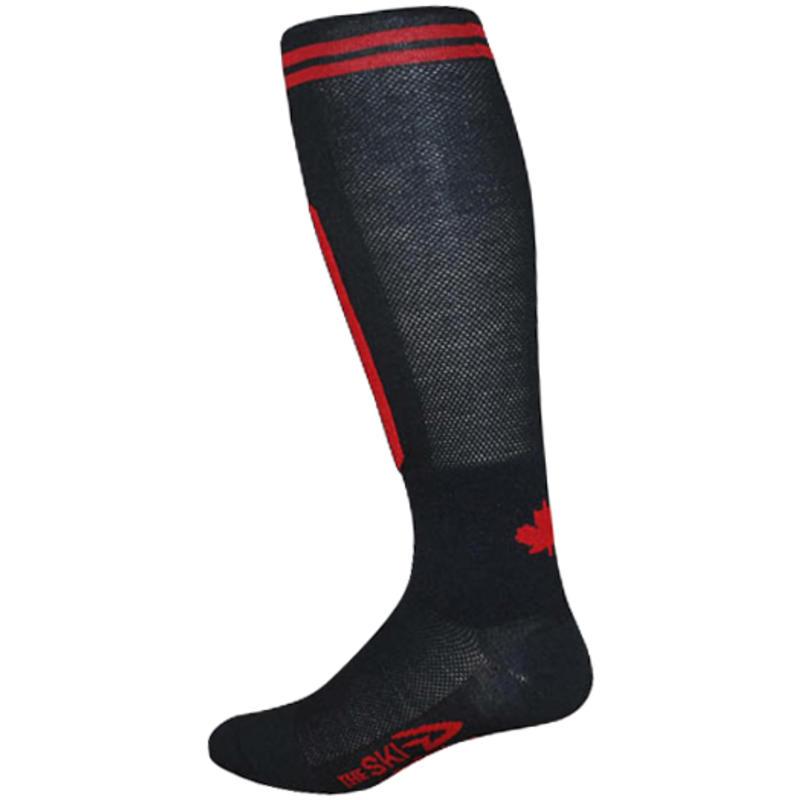 Ski-D Ski Socks Black/Red