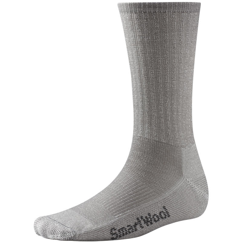 Hike Light Crew Socks Light Grey