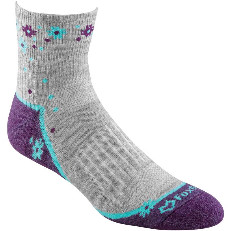 Trail Lightweight Quarter Crew Socks Grey