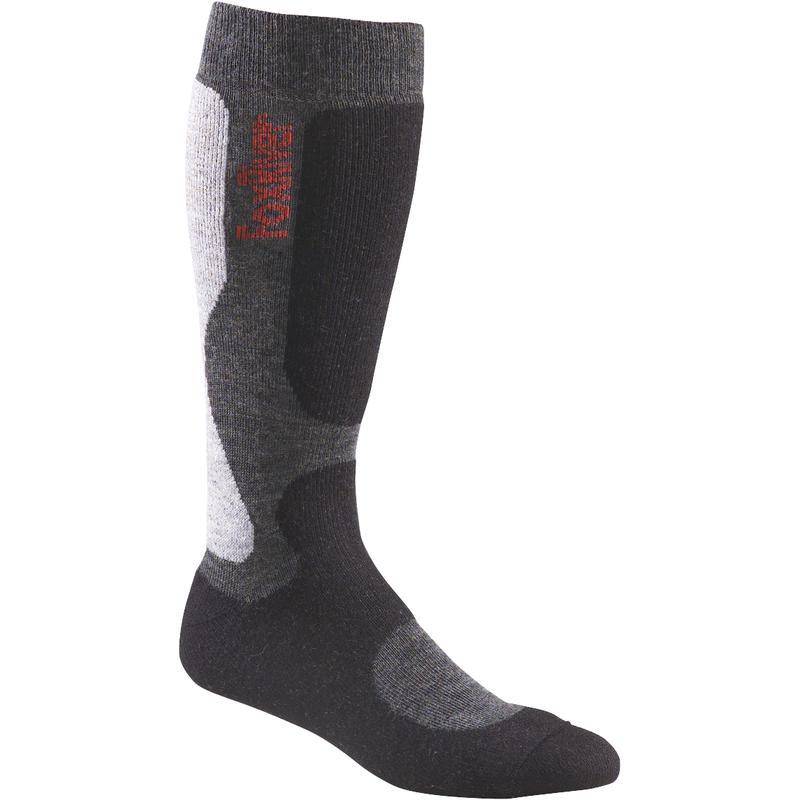 Wick Dry Big Air Snowboarding Socks Black/Charcoal
