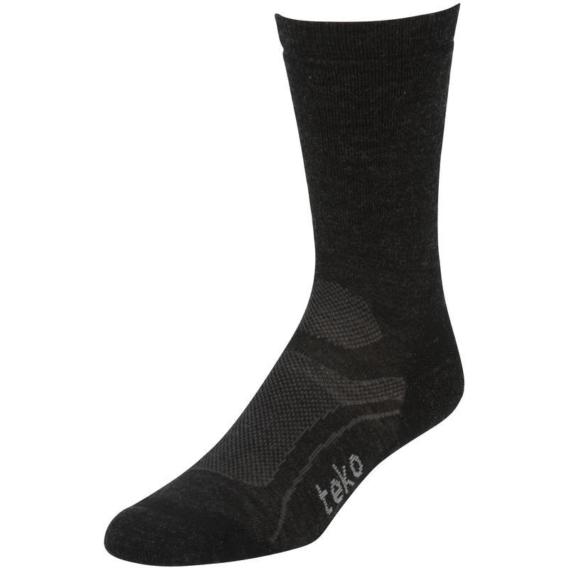 Organic SIN3RGI Light Hiking Socks Charcoal