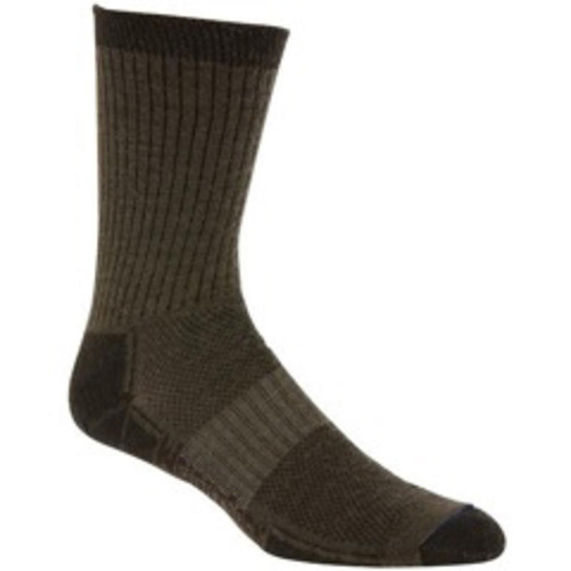 Merino Stride Crew Socks Timber