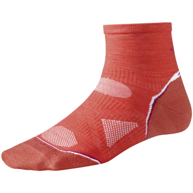 Chaussettes ultralégères PhD Running Mini Coquelicot