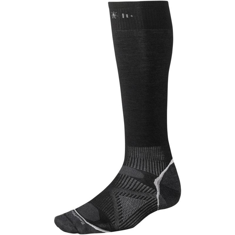 Chaussettes de ski PhD ultralégères Noir