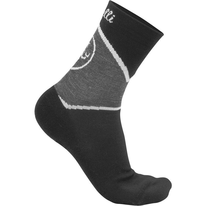 Mondrian Socks Black/Anthracite