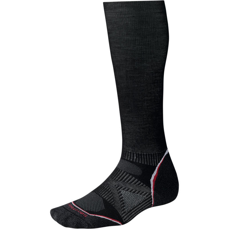 PhD Ski Graduated Compression Light Socks Black