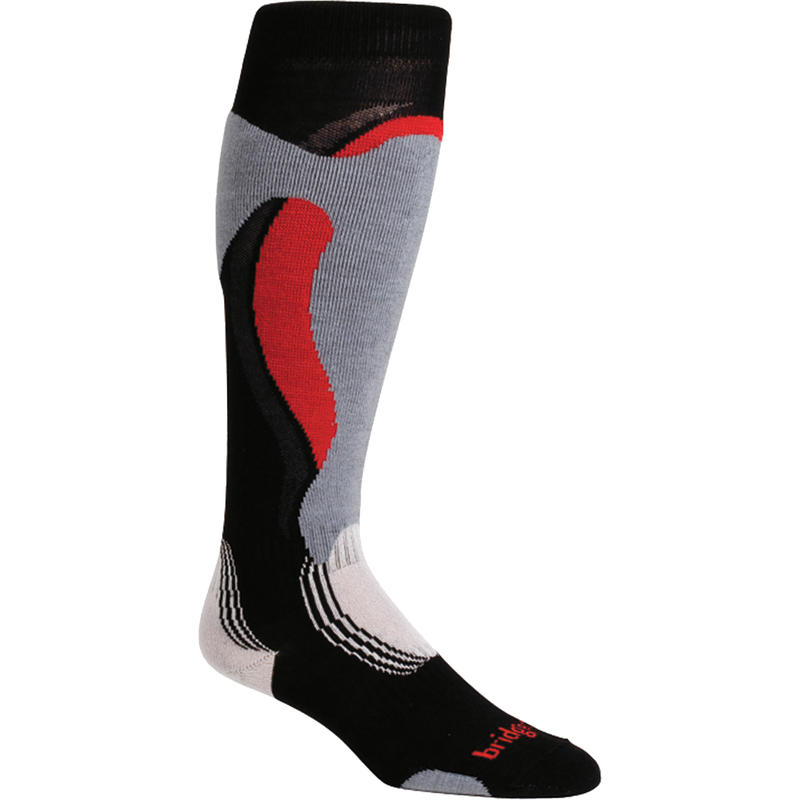 Control Fit Ski Socks Black/Stone