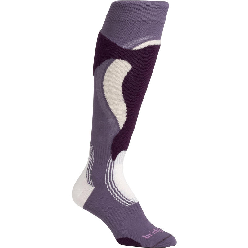 Control Fit Ski Socks Plumberry