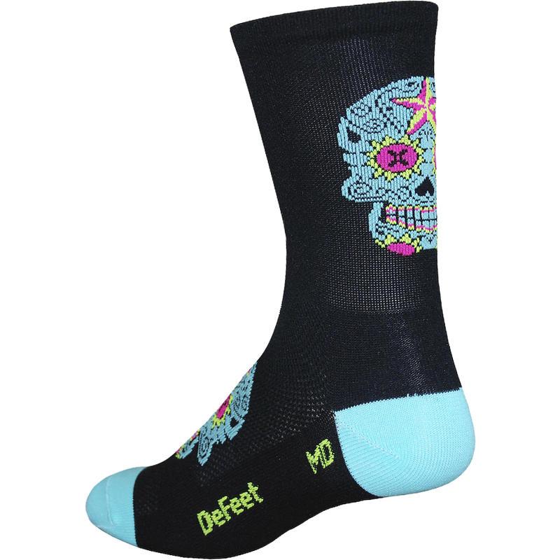 Aireator HT Sugar Skull Socks Black/Neptune
