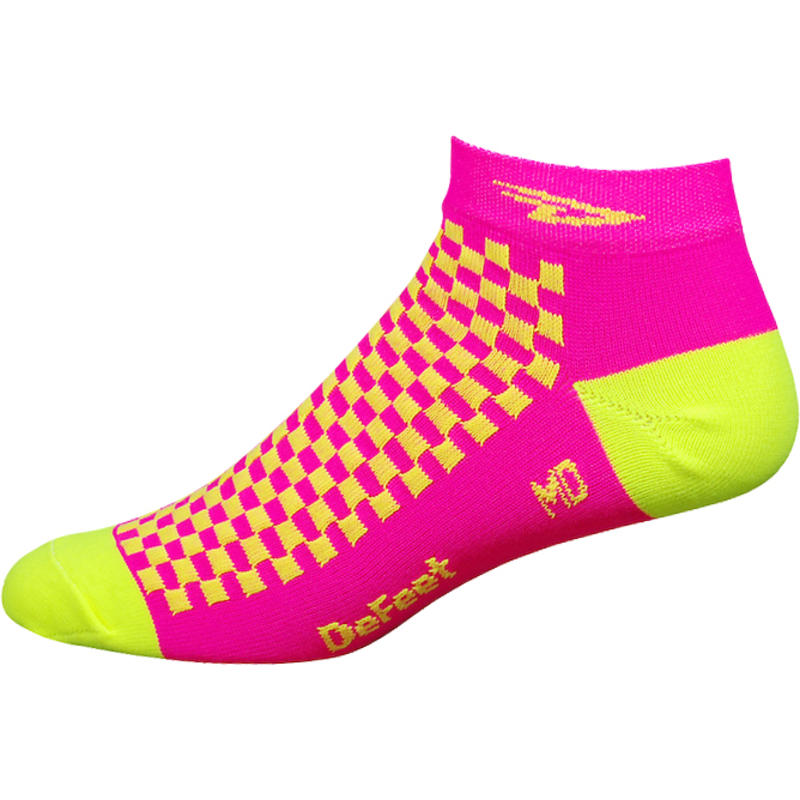 Chaussettes Speede D Logo Neon Rose Hi-Vis/Jaune Hi-Vis