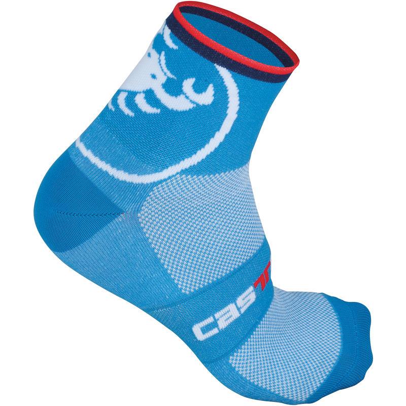 Velocissimo Giro 6 Socks Drive Blue