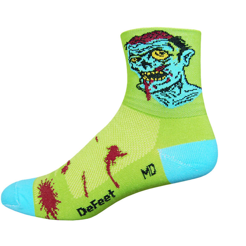 Aireator Zombie Socks Lime Green